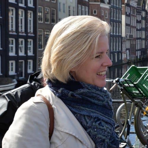 Yvonne Kroon in Amsterdam