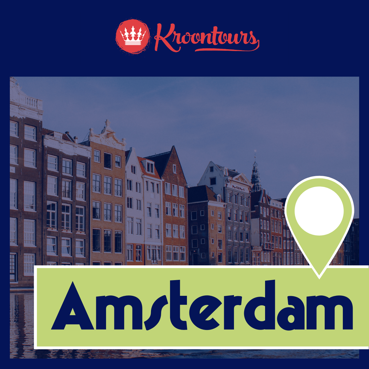 Kroontours in Amsterdam